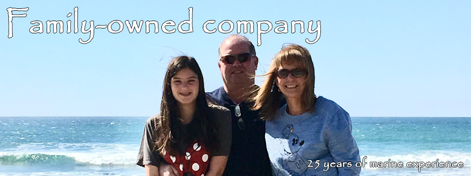 Family-owned company, 25 years of marine experience