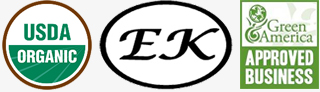 USDA Organic - EK Kosher - A Green Business