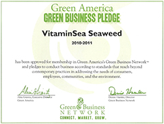We are a green company