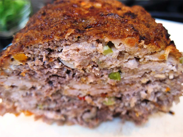 Classic Meatloaf with Dulse Flakes